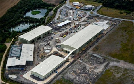 Shanks' Wakefield facility