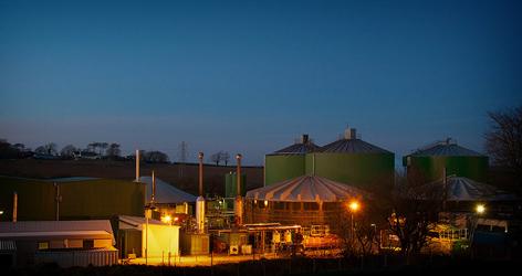 Andigestion's Holsworthy Biogas Plant in West Devon
