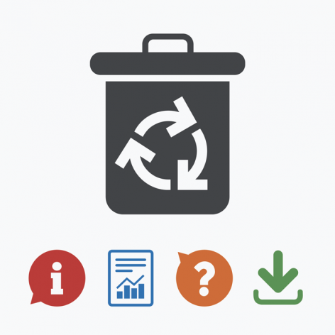 recycling-bin-download-data-illustration