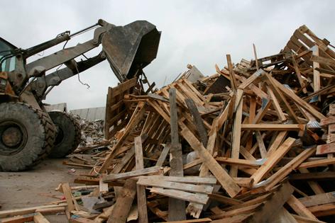 waste wood digger