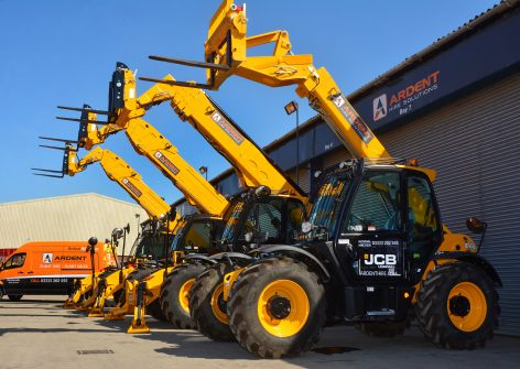 Ardent Hire Solutions has ordered 700 machines from JCB