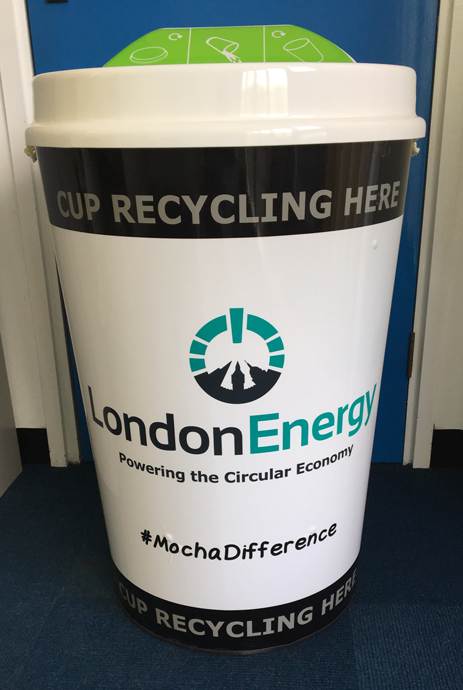 Coffee cup recycling bins to be introduced to prevent